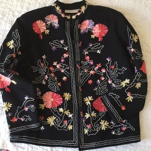 Drapers and Damon's embroidered blazer
